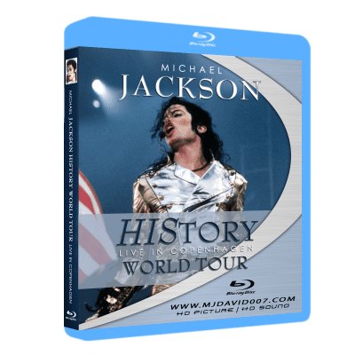 Michael Jackson HIStory Tour Copenhagen Bluray