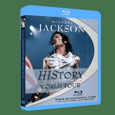 Michael Jackson HIStory Tour Copenhagen Bluray