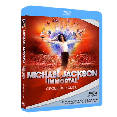 Michael Jackson Immortal Cirque du Soleil Bluray