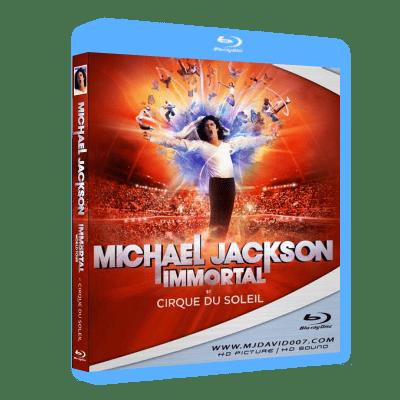 Michael Jackson Immortal Cirque du Soleil Bluray
