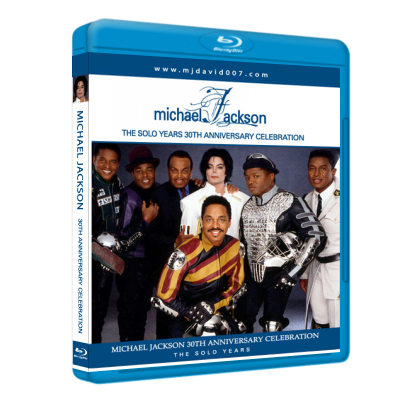 Michael Jackson 30th Anniversary Bluray Cover