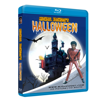 Michael Jackson's Halloween Bluray case cover