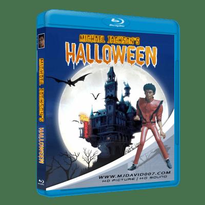 Michael Jackson's Halloween Bluray case cover