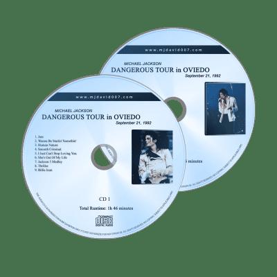 Michael Jackson Dangerous Tour Oviedo 1992 Audio concert