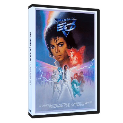 Michael Jackson Captain Eo dvd