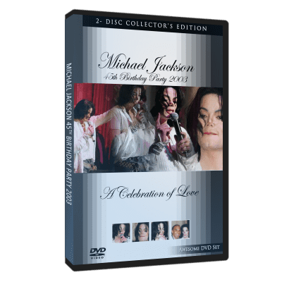 Michael Jackson Birthday Party 2003 dvd