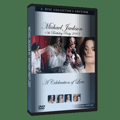 Michael Jackson Birthday Party 2003 dvd
