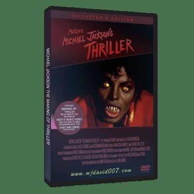 Michael Jackson Making of Thriller dvd