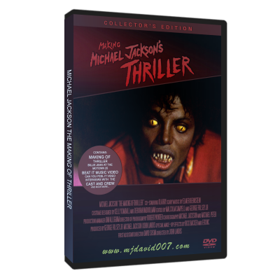 Michael Jackson Making of Thriller dvd