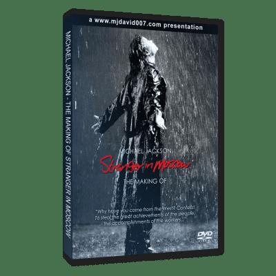 Michael Jackson Making of Stranger in Moscow dvd