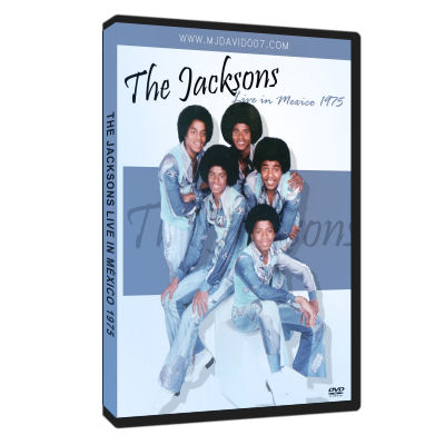The Jacksons live in Mexico 1975 dvd