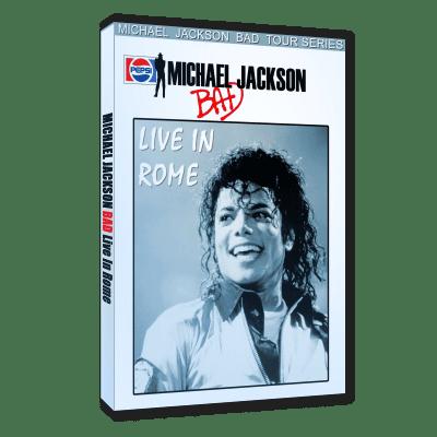 Michael Jackson Bad Tour Rome 1988