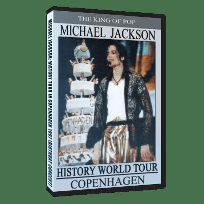 Michael Jackson HIStory Tour Copenhagen Birthday