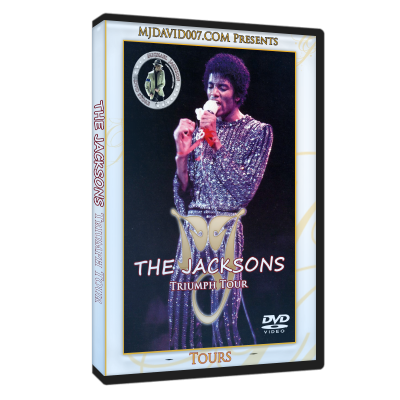 Jacksons Triumph Los Angeles 1981 cover