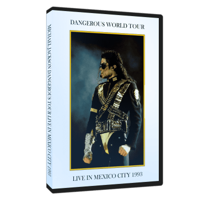 Michael Jackson Dangerous Tour Mexico 1993 dvd