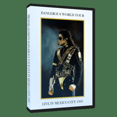 Michael Jackson Dangerous Tour Mexico 1993 dvd