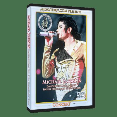 Michael Jackson Dangerous Tour Bucharest BBC version