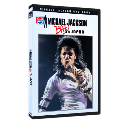 Michael Jackson Bad Tour Japan dvd