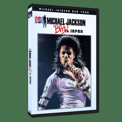 Michael Jackson Bad Tour Japan dvd