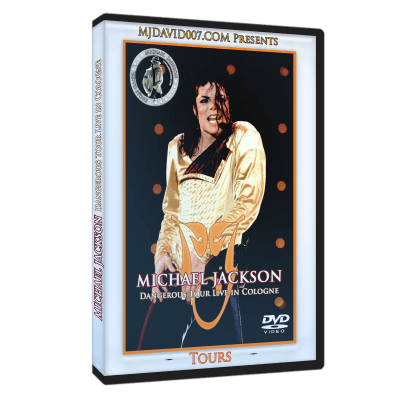 Michael Jackson Dangerous Tour Cologne dvd