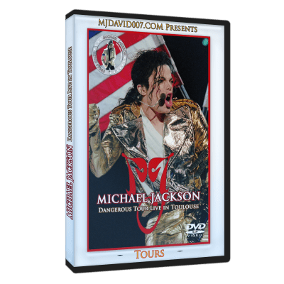 Michael Jackson Dangerous Tour Tolouse dvd