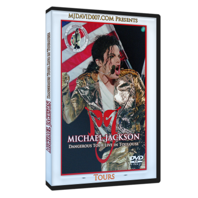 Michael Jackson Dangerous Tour Tolouse dvd