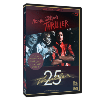 Michael Jackson Thriller Special Edition dvd