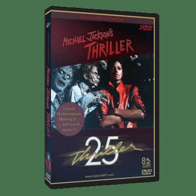Michael Jackson Thriller Special Edition dvd