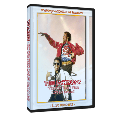 The Jacksons Victory Tour Dallas 1984 dvd