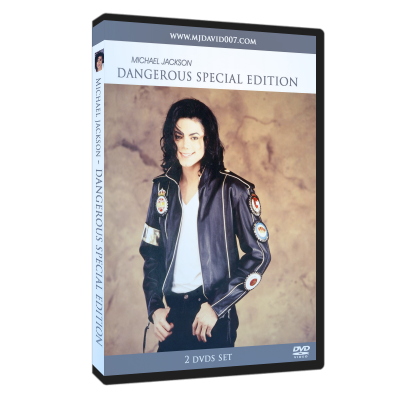 Michael Jackson Dangerous Special Edition dvd