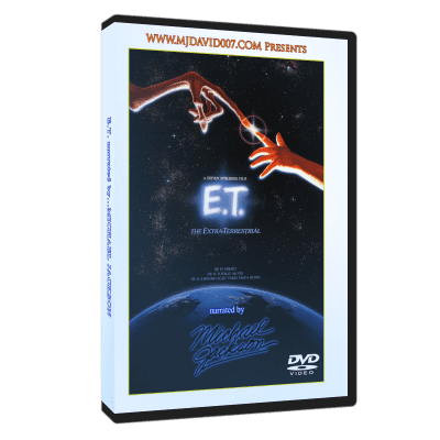 E.T. narrated by Michael Jackson dvd