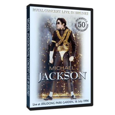 Michael Jackson Royal Concert Brunei 1996 dvd
