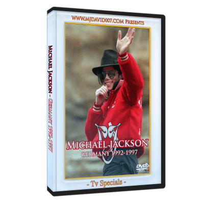 Michael Jackson Germany dvd