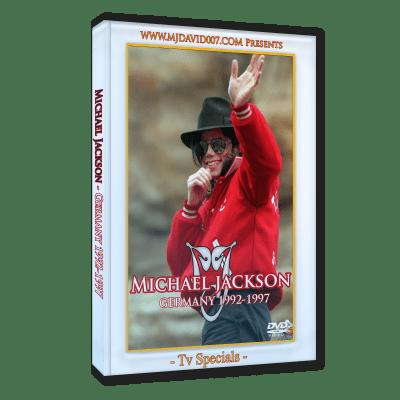 Michael Jackson Germany dvd