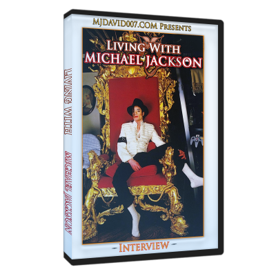 Living with Michael Jackson dvd