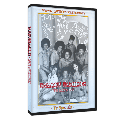 The Jacksons Famous Families dvd