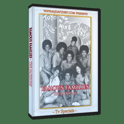 The Jacksons Famous Families dvd