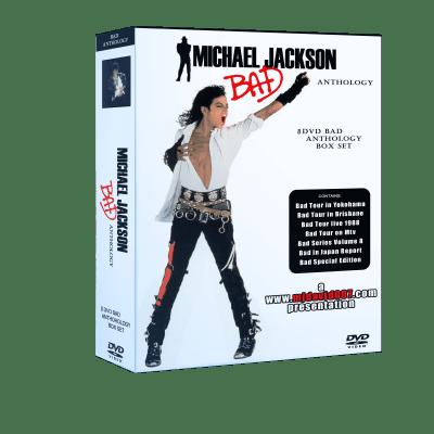 Michael Jackson Bad Anthology box set dvd
