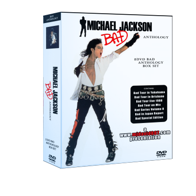 Michael Jackson Bad Anthology box set dvd