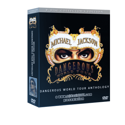 Michael Jackson Dangerous Tour Anthology box set