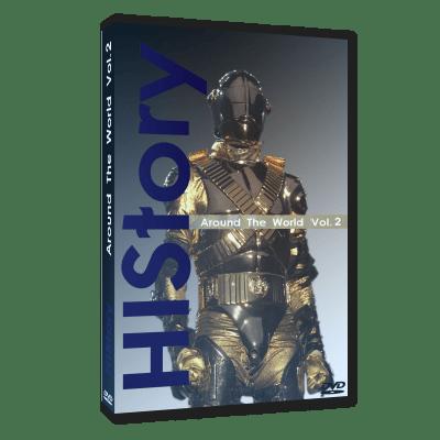 Michael Jackson HIStory Around the World vol 2 dvd