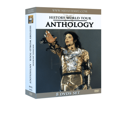 Michael Jackson HIStory Tour Anthology box set dvd