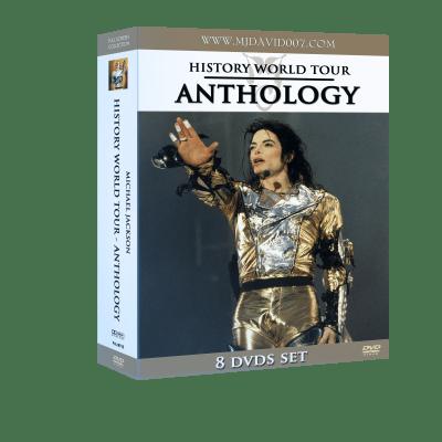 Michael Jackson HIStory Tour Anthology box set dvd
