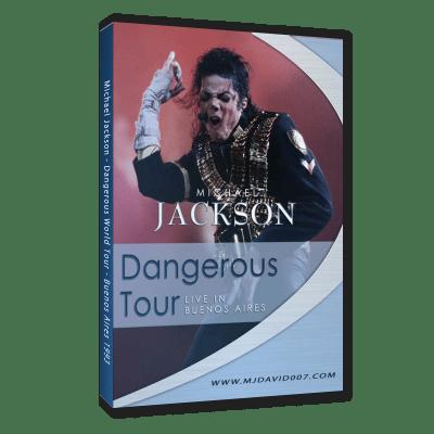 Michael Jackson Dangerous Tour Buenos Aires 1993 dvd