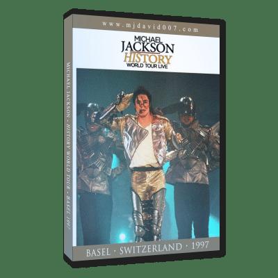 Michael Jackson HIStory Tour Basel 1997 dvd