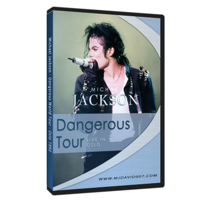 Michael Jackson Dangerous Tour Oslo dvd