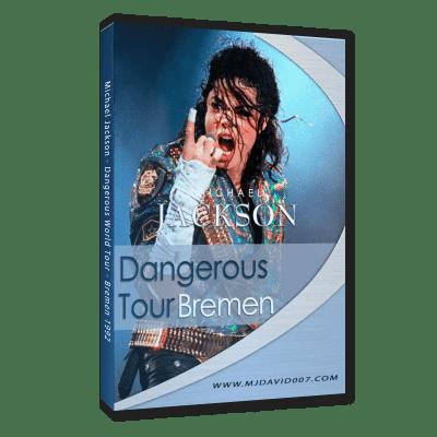 Michael Jackson Dangerous Tour Bremen dvd