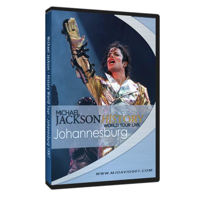 Michael Jackson HIStory Tour Johannesburg 1997 dvd