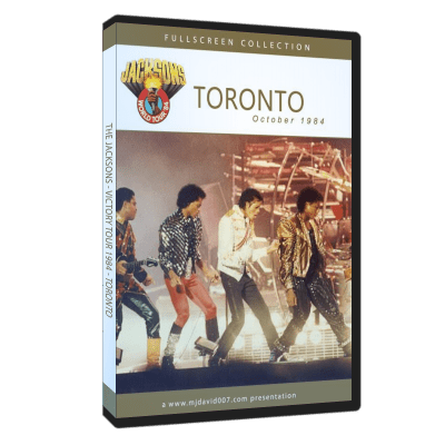 The Jacksons Victory Tour Toronto dvd