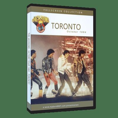 The Jacksons Victory Tour Toronto dvd
